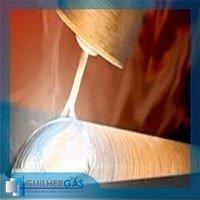 Gás para inertização