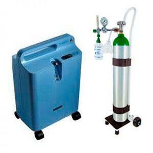 cilindro portátil de oxigênio